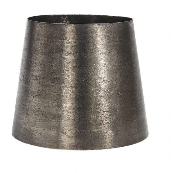 Mia Metall Lampskärm Råsilver 20cm-0