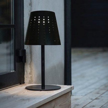 Solcellslampa Alvar svart -15295