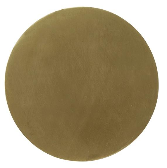 Vägglampa Fullmoon Pale gold 25 cm-0