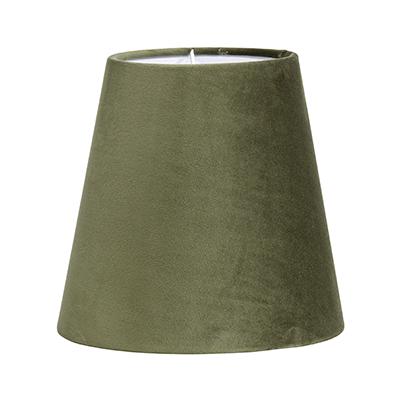 Golvlampa Cia dubbel svart/mässing inkl sammetsskärm-14643