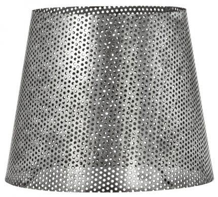 Mia hålad lampskärm Antik silver 20cm-0