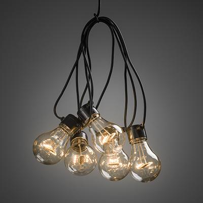 Ljusslinga LED 10L amber-0