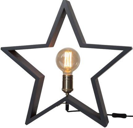 Stjärna bord Lysekil grafitgrå-0