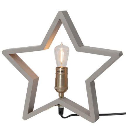 Stjärna bord Lysekil mini grafitgrå-0