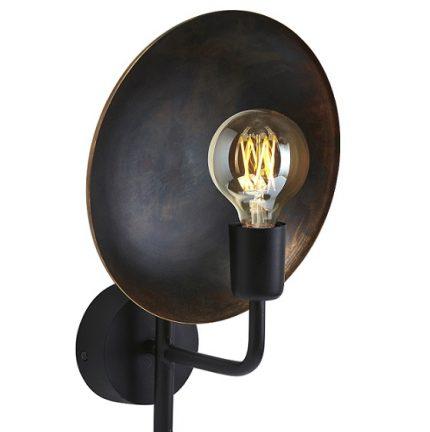 Vägglampa Uptown svart 36 cm-0