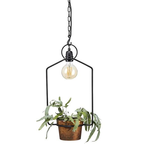 Fönsterlampa Uptown svart 57 cm-15352