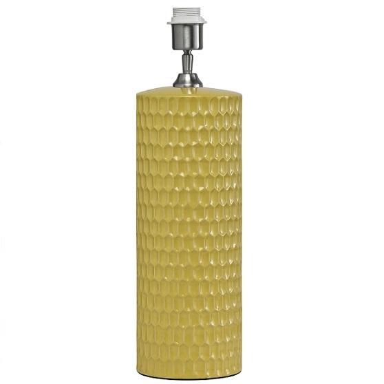 Bordslampa Honeycomb gul 52 cm-0