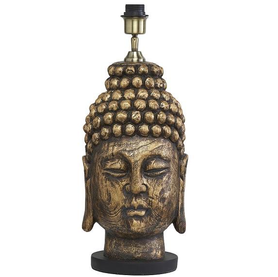 Lampfot Buddha mässing 54 cm-0