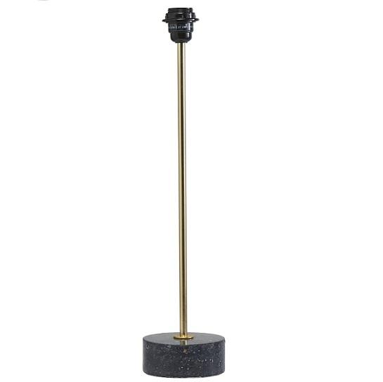 Lampfot Terazzo blåsvart 57 cm-0