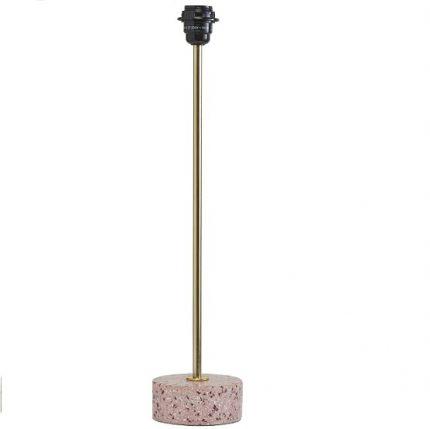 Lampfot Terazzo rosa 57 cm-0