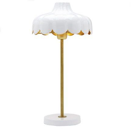 Bordslampa Wells vit 50 cm-0