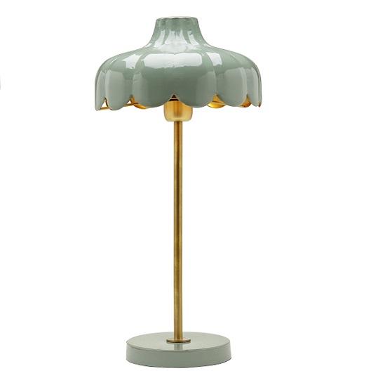 Bordslampa Wells grön 50 cm-0