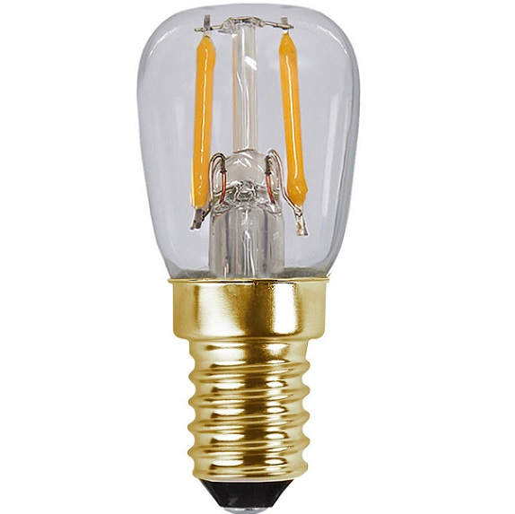Ledlampa päron E14 0,5w 30lm 2100k -14868