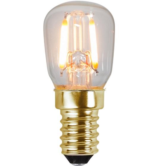 Ledlampa päron E14 0,5w 30lm 2100k -0