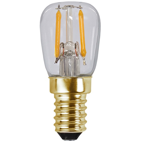 Ledlampa päron E14 1,8w 100lm 2100k dim-14870