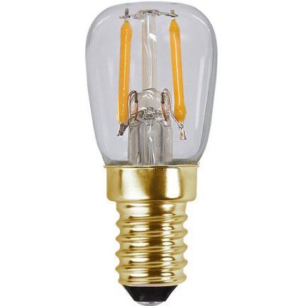 Ledlampa päron E14 2,8w 200lm 2100k dim-14872