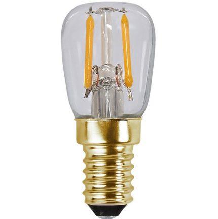 Ledlampa päron E14 1,3w 50lm 2000k dim-14874