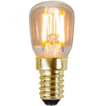 Ledlampa päron E14 1,3w 50lm 2000k dim-0