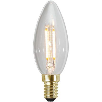 Ledlampa klar kron E14 0,5w 30lm-0