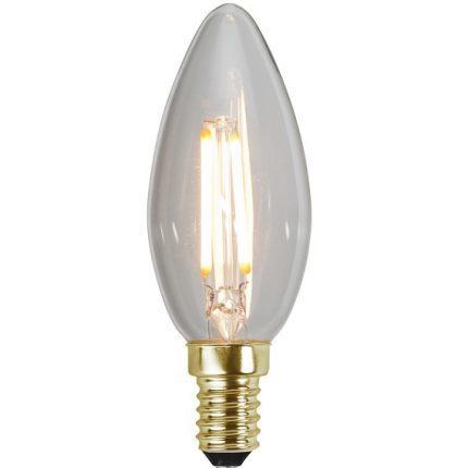 Ledlampa kron E14 1,6w 80lm dimbar-0