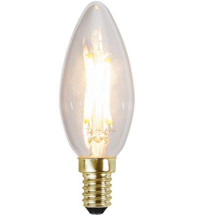 Ledlampa kron E14 4,2w 350lm dimbar-0