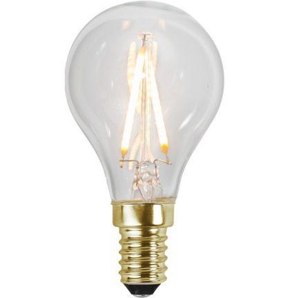 Ledlampa E14 0,5w 30lm 2100k-0