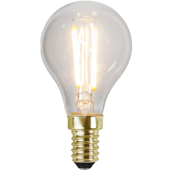 Ledlampa E14 2,2w 150lm 2100k dimbar-0