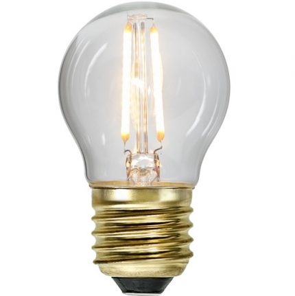 Ledlampa klot E27 0,5w 30lm-0