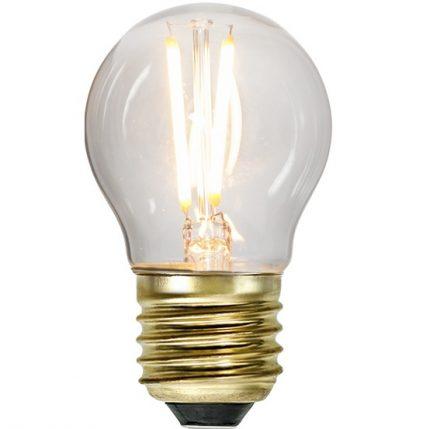 Ledlampa klot E27 2 w 150lm dimbar-0