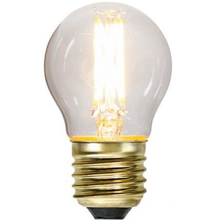 Ledlampa klot E27 4,2w 350lm dimbar-0