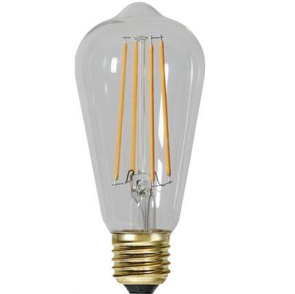Ledlampa (Edison) E27 4w 300lm klar dimbar-14959