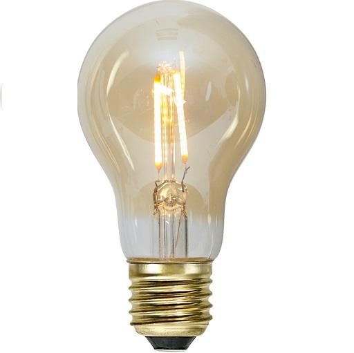 Ledlampa amber E27 0,5 w 30lm-0