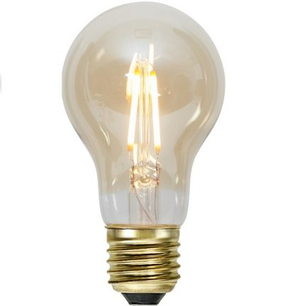 Ledlampa amber E27 1,4w 80lm dimbar-0