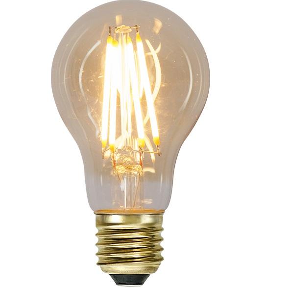Ledlampa amber E27 7 w 700lm dimbar-0