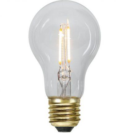 Ledlampa klar E27 0,5w 30lm-0