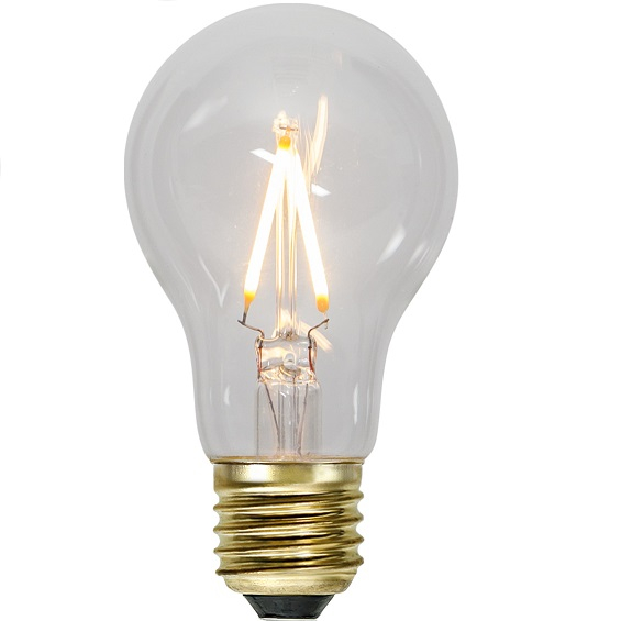 Ledlampa klar E27 1,4w 80lm dimbar-0