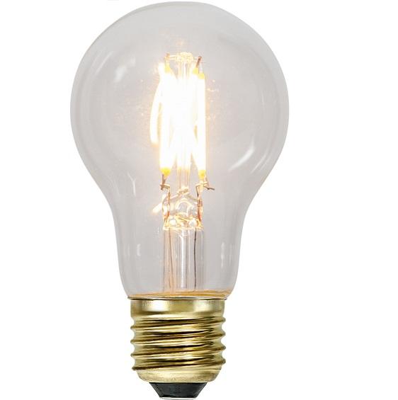 Ledlampa klar E27 4,2w 400lm dimbar-0