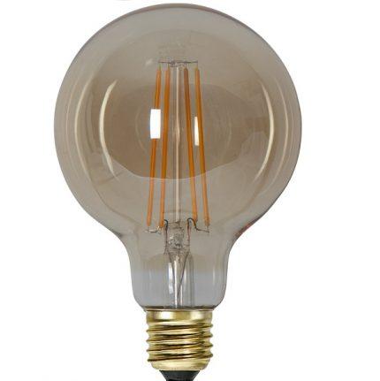 Ledlampa 95mm amber E27 7,5 w 700lm dimbar-14924