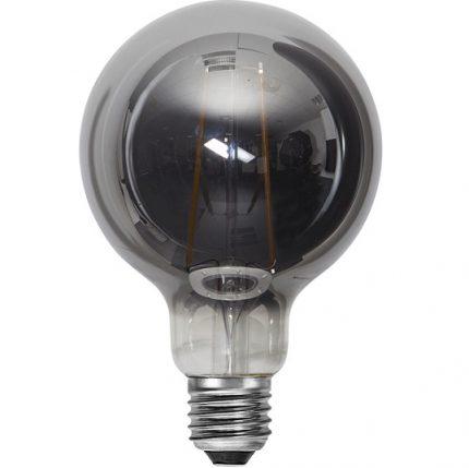 Ledlampa 95mm rök E27 1 w 40lm-14926