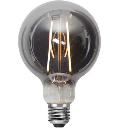 Ledlampa 95mm rök E27 1 w 40lm-0