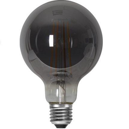 Ledlampa 95mm rök E27 3,6 w 120lm dimbar-14928