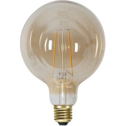 Ledlampa 125mm amber E27 1 w 70lm -14939