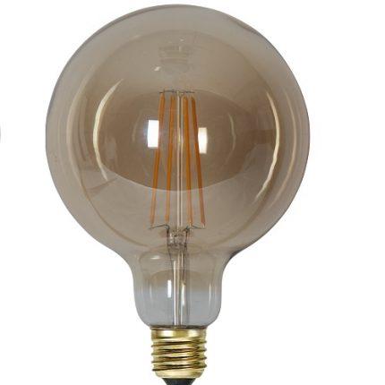 Ledlampa 125mm amber E27 3,6 w 300lm dimbar-14940