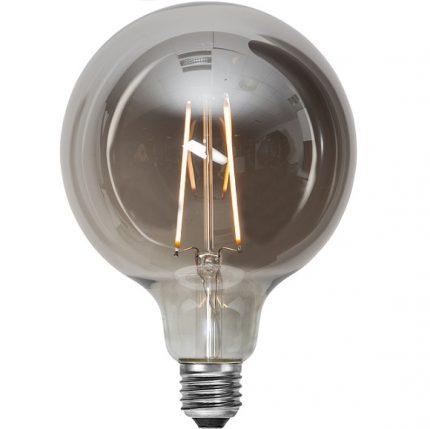 Ledlampa 125mm rök E27 1 w 40lm-0