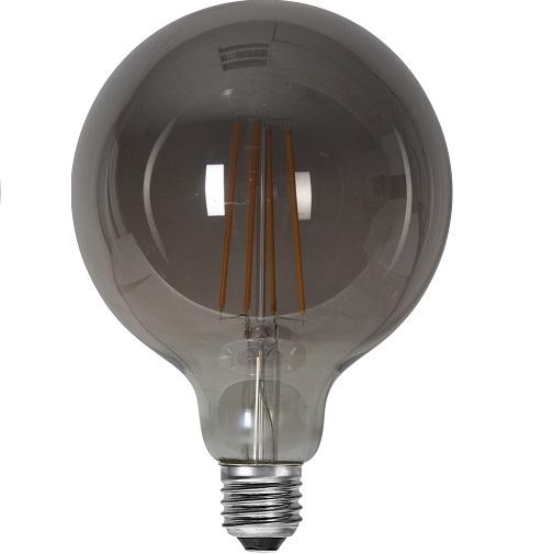 Ledlampa 125mm rök E27 3,6w 120lm dimbar-14947