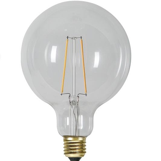 Ledlampa 125mm klar E27 1 w 70lm -14950