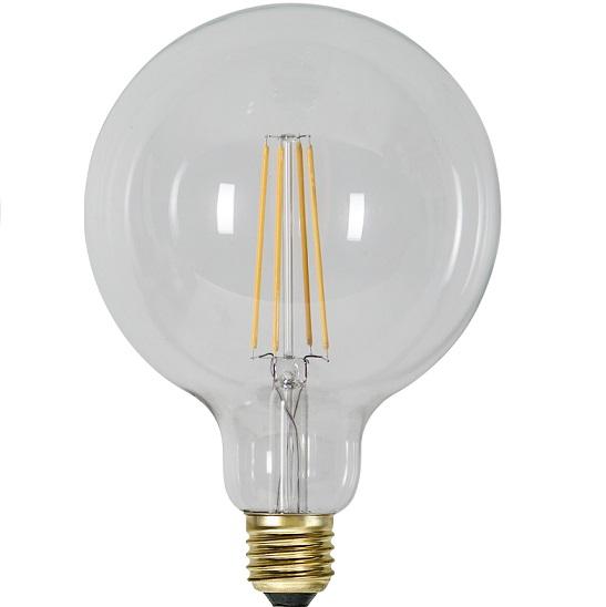 Ledlampa 125mm klar E27 3,6 w 300lm dimbar-14953