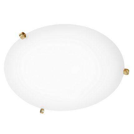 Plafond Ögla mässing vit 55 cm-0