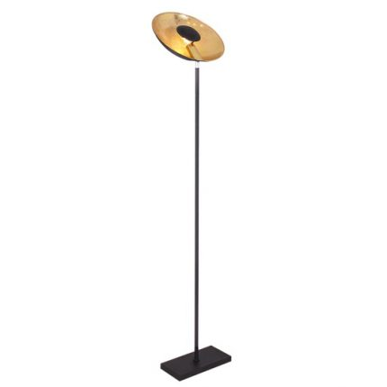 Golvlampa Captain uplight svart-0
