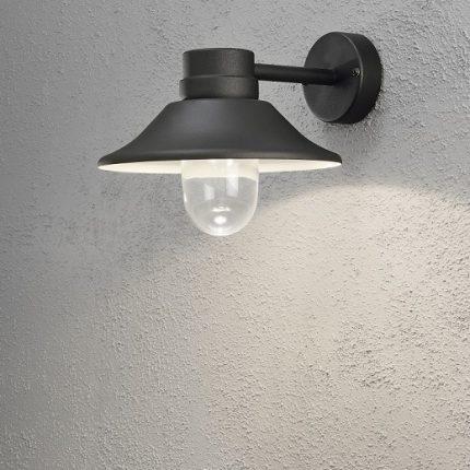 Vägglykta Vega LED svart-12428